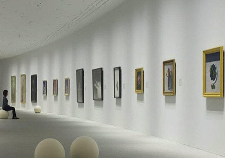 نورپردازی سقف موزه و گالری